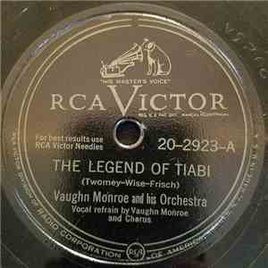 Vaughn Monroe And His Orchestra - The Legend Of Tiabi / Cool Water album flac