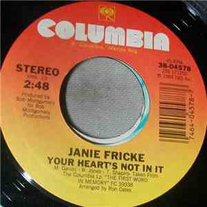 Janie Fricke - Your Heart's Not In It album flac
