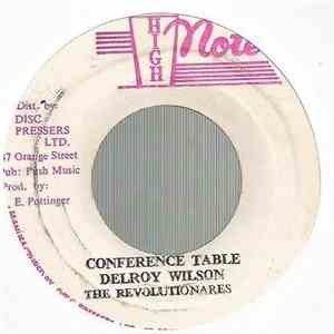 Delroy Wilson, The Revolutionares - Conference Table / Conference Dub album flac