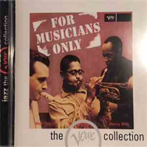 Dizzy Gillespie / Stan Getz / Sonny Stitt - For Musicians Only album flac