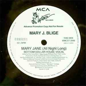Mary J. Blige - Mary Jane (All Night Long) album flac