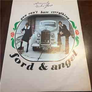 Ford & Angel - You Can't Have Everything album flac