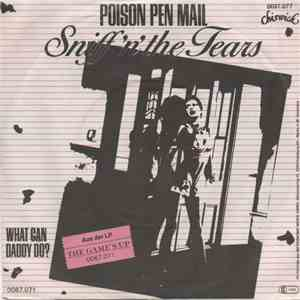Sniff 'n' the Tears - Poison Pen Mail album flac