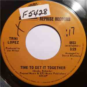 Trini Lopez - Time To Get It Together / Mexican Medicine Man album flac