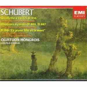 Schubert, Quatuor Hongrois, Laszlo Varga - String Quintet D956, String Quartets D804 & D887, Death And The Maiden album flac