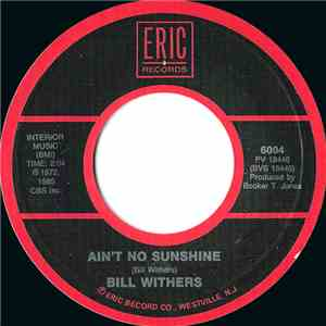 Bill Withers - Lean On Me / Ain't No Sunshine album flac