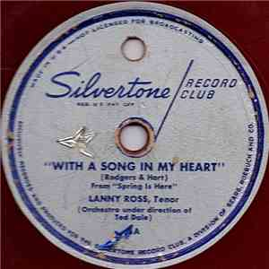 Lanny Ross, Ted Dale And His Orchestra - With A Song In My Heart / Donkey Serenade album flac