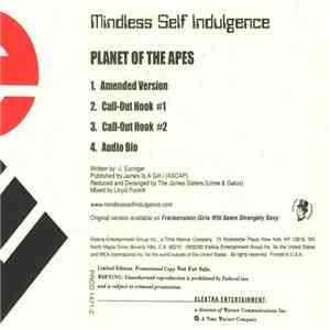 Mindless Self Indulgence - Planet Of The Apes album flac