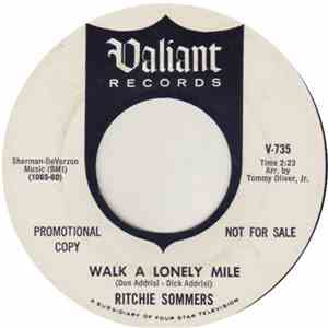 Ritchie Sommers - Walk A Lonely Mile album flac