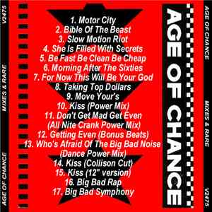 Age Of Chance - Mixes & Rare album flac