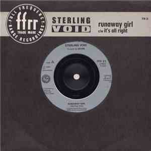 Sterling Void - Runaway Girl c/w It's All Right album flac
