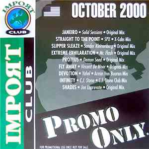 Various - Promo Only Import Club: October 2000 album flac